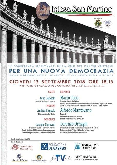 """locandina """"per una nuova democrazia"""""""