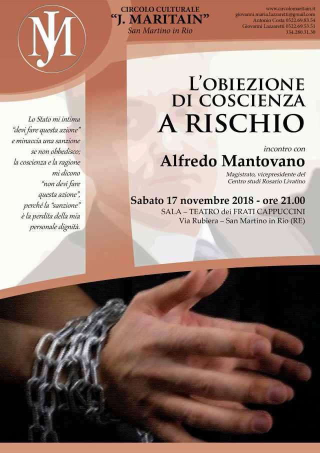 Alfredo Mantovano - Obiezione di coscienza 2