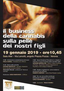 Il business della cannabis sulla pelle dei nostri figli - Locandina